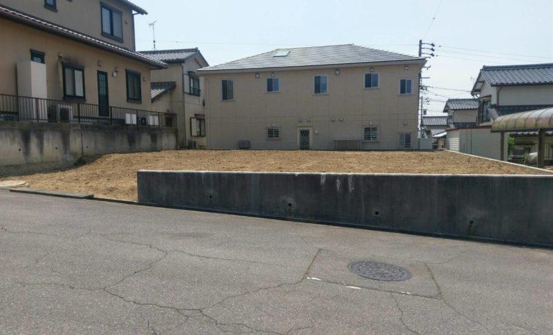 豊田市住宅解体後